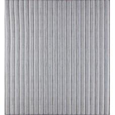 Самоклеющаяся декоративная 3D панель белый бамбук 700x700x8мм